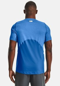 Under Armour - ARMOUR FITTED - Print T-shirt - brilliant blue light heather - 2
