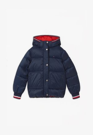 ESSENTIAL PUFFER - Winter jacket - blue