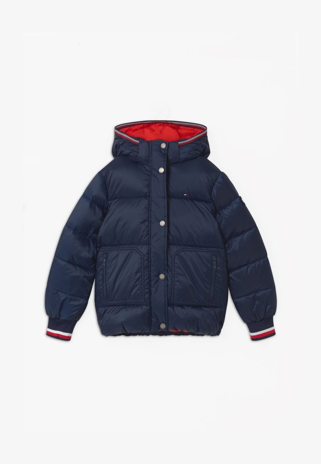 ESSENTIAL PUFFER - Giacca invernale - blue