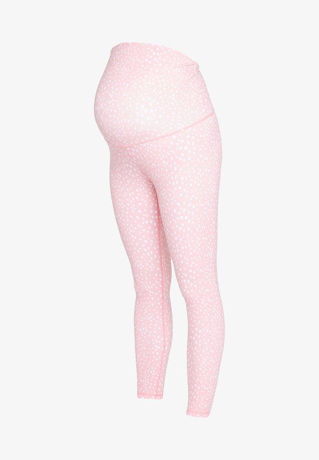 MATERNITY LIFESTYLE 7/8 - Leggings - peony pink