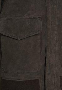 Schott - KANSAS  - Leather jacket - taupe - 2