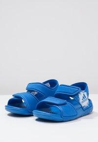 adidas Performance - ALTASWIM - Badesandaler - blue/white - 2