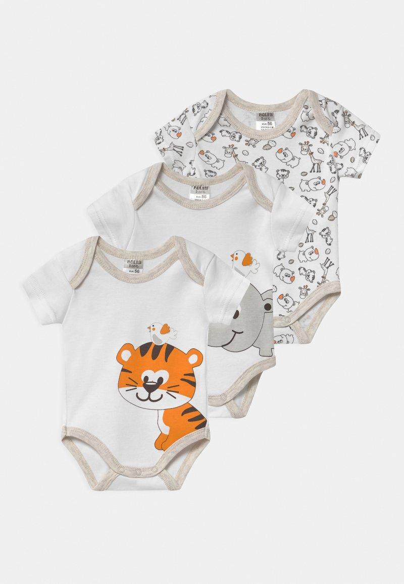 Jacky Baby - KURZARM 3 PACK UNISEX - Body - white