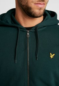 Lyle & Scott - Zip-up hoodie - jade green - 5