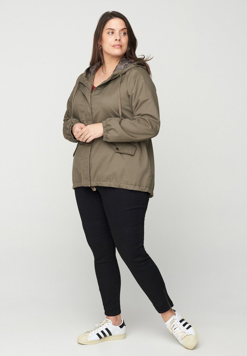 Zizzi - Outdoor jacket - grey