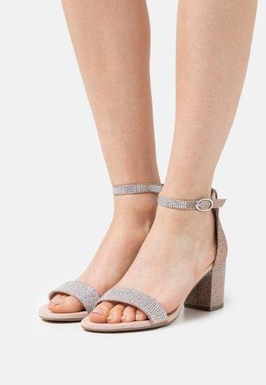 BY GUIDO MARIA KRETSCHMER - Sandals - rose metallic