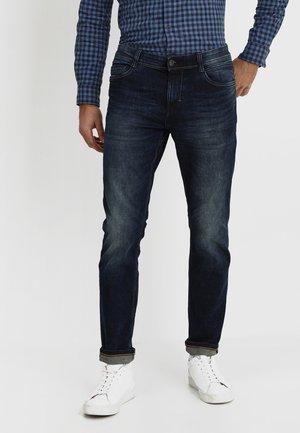 JOSH - Slim fit jeans - dark stone wash denim