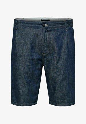 Jeansshorts - dark blue denim