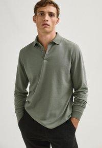Massimo Dutti - Polo shirt - evergreen - 0