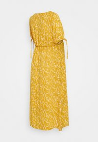 MAMALICIOUS - MLCARLIN MIDI DRESS - Korte jurk - chinese yellow/fragant lilac - 1