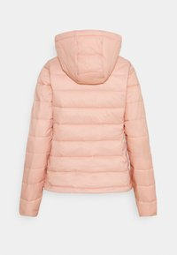 ONLY - ONLSANDIE QUILTED HOOD JACKET - Light jacket - misty rose - 7