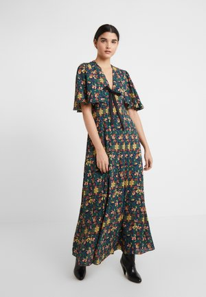 MISAMIS DRESS - Maxi dress - azure blue/gold