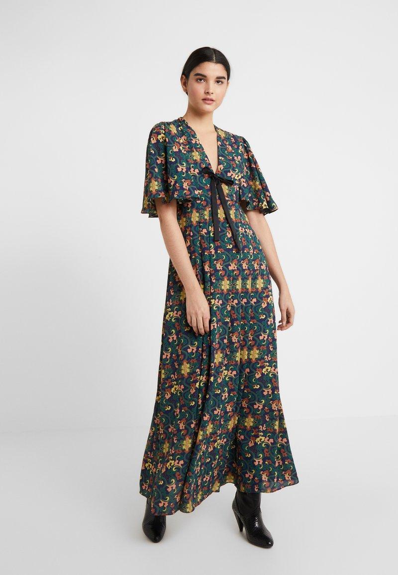 Three Floor - MISAMIS DRESS - Vestido largo - azure blue/gold