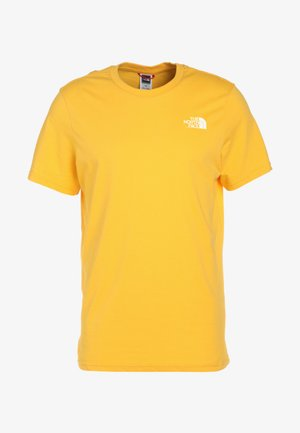 MENS SIMPLE DOME TEE - Jednoduché triko - yellow