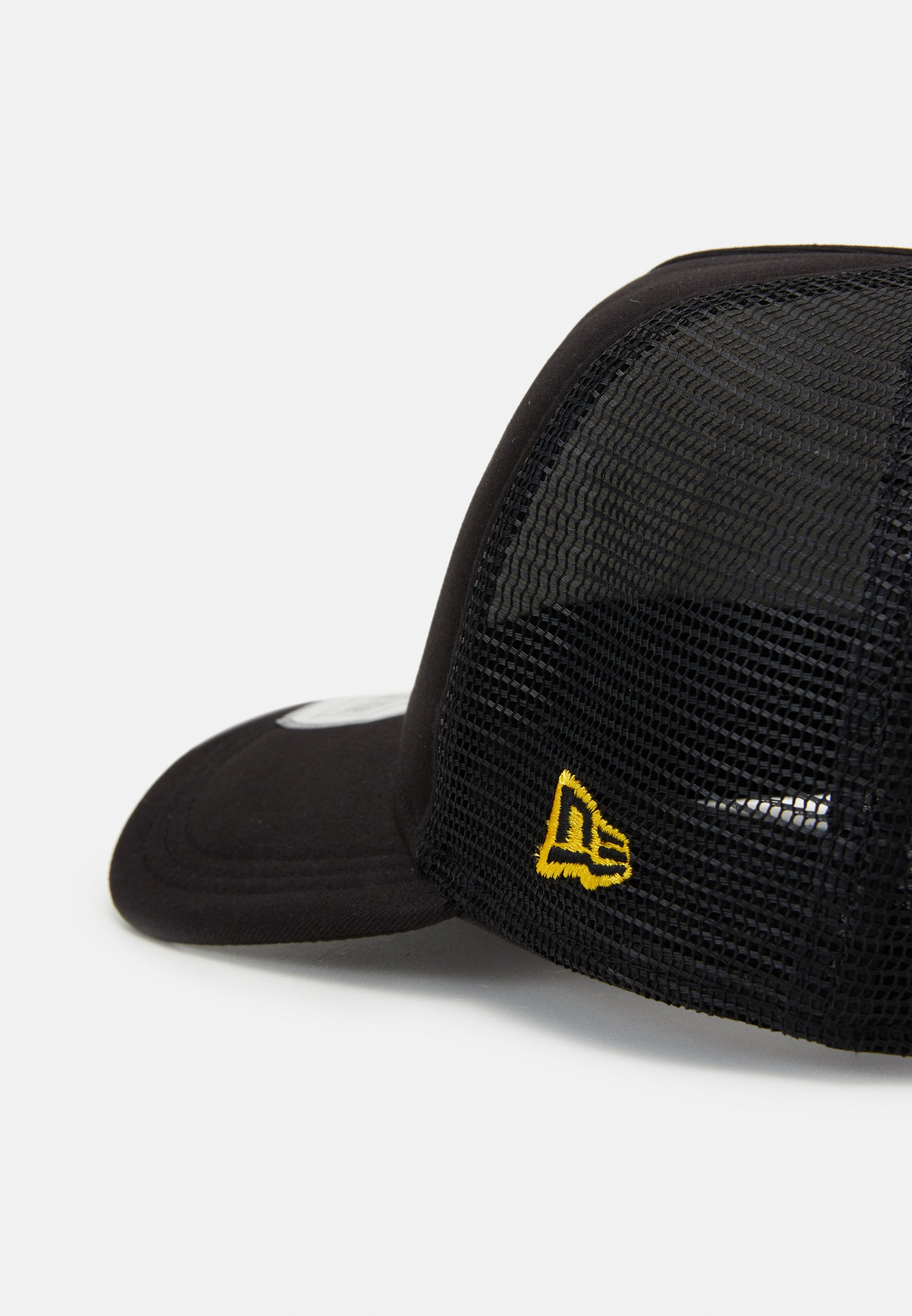 New Era Trucker - Cap Black/yellow/schwarz
