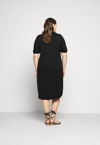 JUNAROSE - by VERO MODA - JRCHASE HIGH LOW DRESS - Shift dress - black - 2