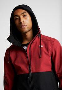 Fox Racing - PIT JACKET - Soft shell jacket - cardinal - 3