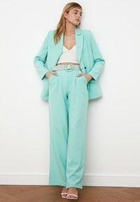 Trendyol - Pantalon classique - light blue - 1