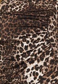 TFNC - JADA - Společenské šaty - dark brown - 4