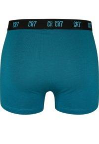 Cristiano Ronaldo CR7 - CRISTIANO RONALDO - BASIC -RETROSHORTS 3-PACK - Pants - petrol/ purple/ blue - 2