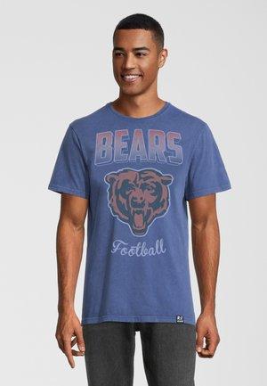 NFL BEARS - T-shirt print - blau