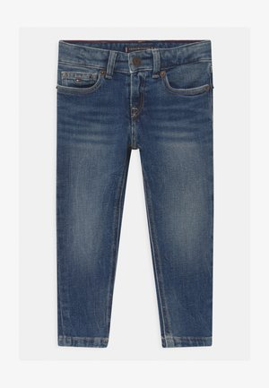SPENCER SLIM POST - Slim fit jeans - blue denim
