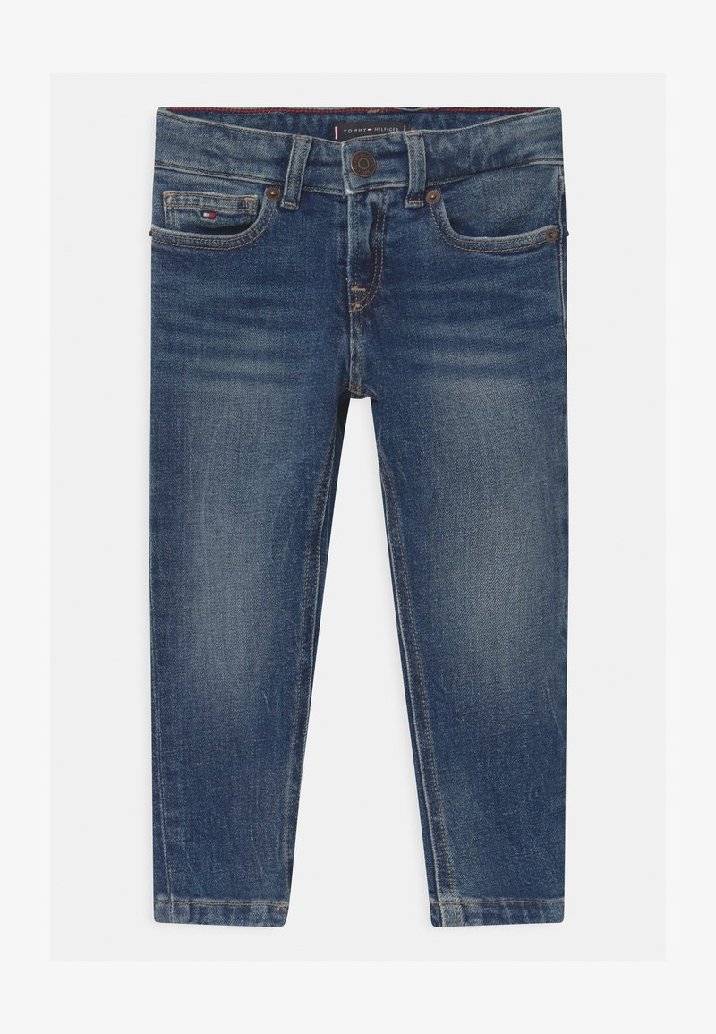 Tommy Hilfiger - SPENCER SLIM POST - Slim fit jeans - blue denim