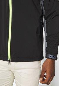 Puma Golf - ULTRADRY JACKET - Vodotěsná bunda - black - 6