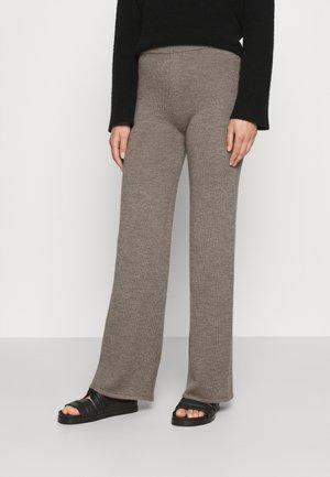 LALLA - Trousers - tortora