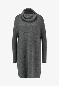ONLY - ONLJANA COWLNECK DRESS  - Strikkjoler -  grey - 5