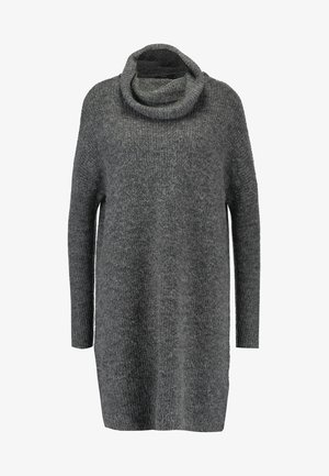 ONLJANA COWLNECK DRESS  - Gebreide jurk -  grey