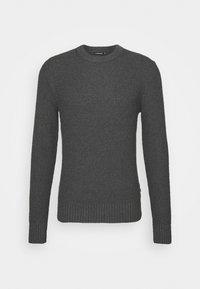 J.LINDEBERG - OLIVER  - Stickad tröja - dark grey melange - 5