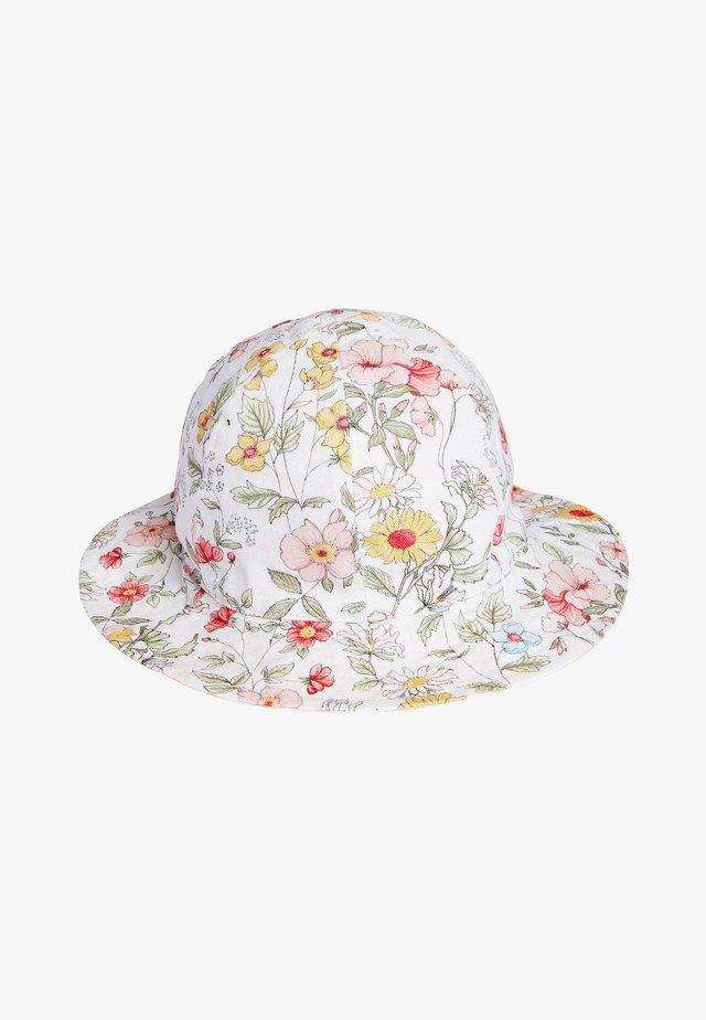 FLORAL/STRIPE REVERSIBLE - Cappellino - pink