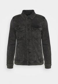 WEBEX BACK GRAPHIC - Veste en jean - black
