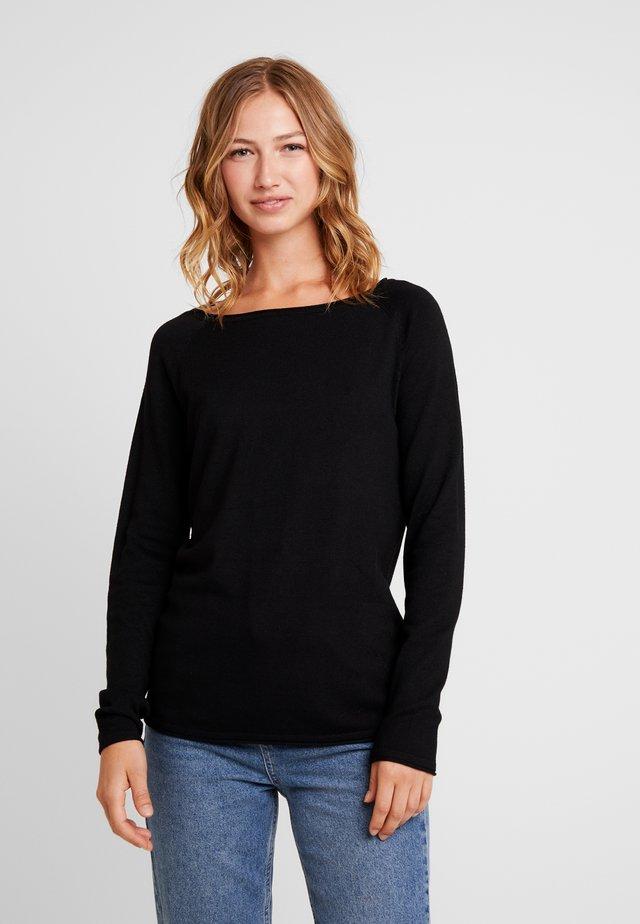 VMNELLIE GLORY LONG  - Jumper - black