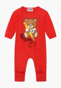 MOSCHINO - BABYGROW GIFT BOX - Overal - poppy red - 0