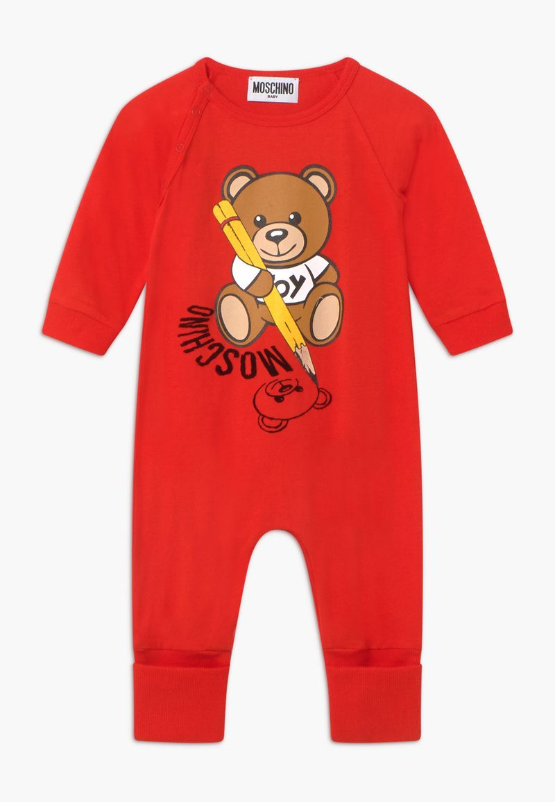MOSCHINO - BABYGROW GIFT BOX - Overal - poppy red