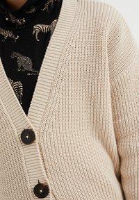 WE Fashion - Cardigan - beige - 2