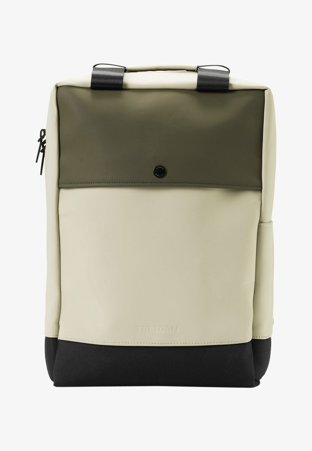 WINGS FLEXPACK - Rucksack - forest green/sand