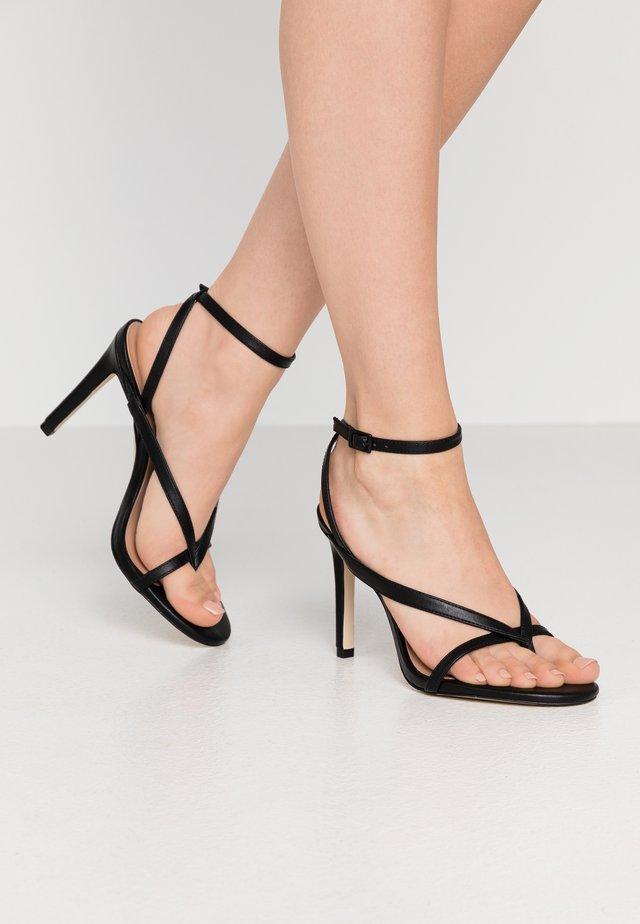 ZELDAA - Sandalias de tacón - black