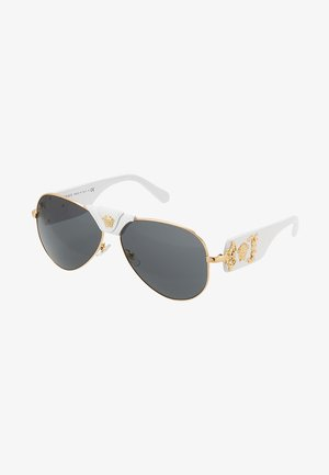 Lunettes de soleil - gold-coloured/ white