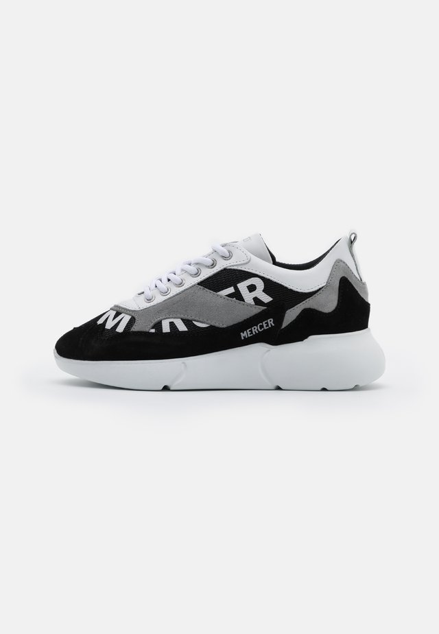 THE W3RD - Trainers - black/white