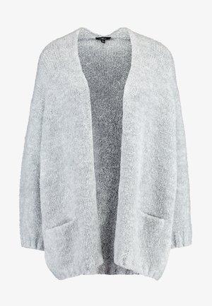 POCKET CARDIGAN - Cardigan - light grey melange