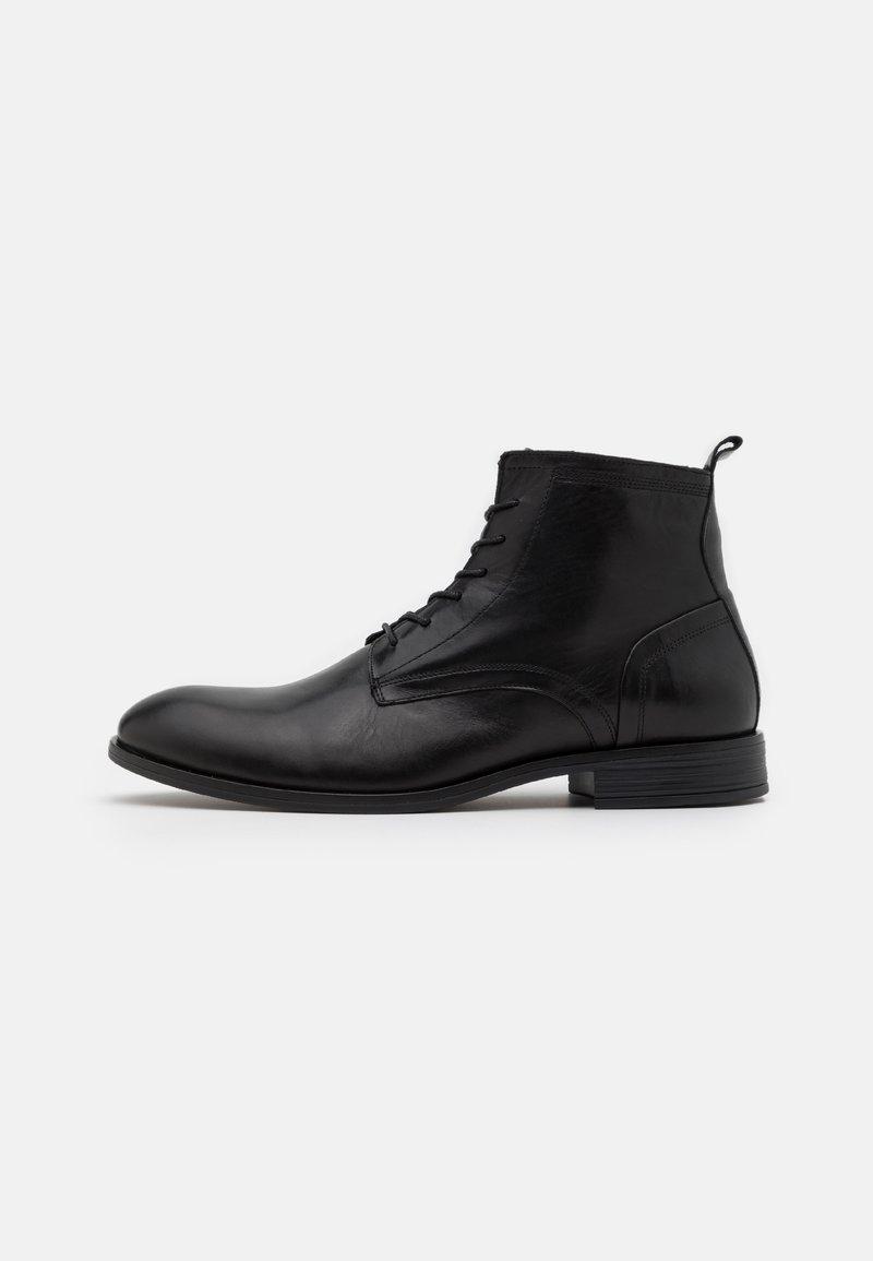 Bianco - LACE UP BOOT - Šněrovací kotníkové boty - black