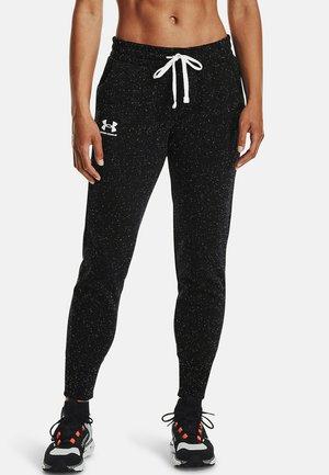 RIVAL - Teplákové kalhoty - black