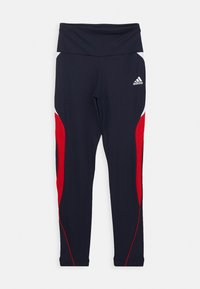adidas Performance - G A.R. BOLD T - Leggings - legend ink/scarlet/white - 0