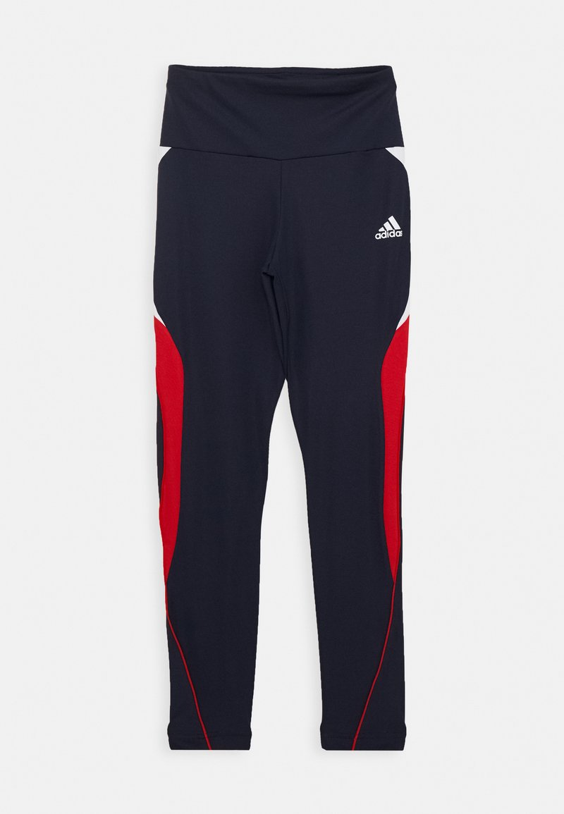 adidas Performance - G A.R. BOLD T - Leggings - legend ink/scarlet/white