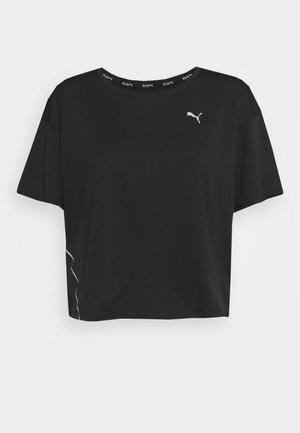 RUN COOLADAPT TEE - T-shirt basic - black