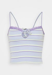 BDG Urban Outfitters - STRIPED CARDIGAN SET - Vest - blue - 2
