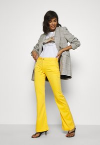 LOIS Jeans - BERUSKA - Trousers - lemon - 1